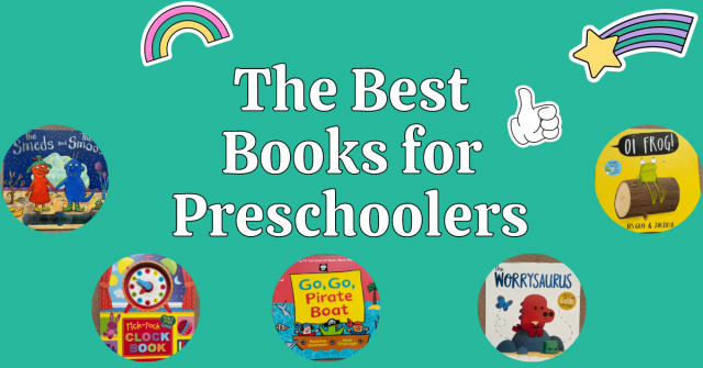 The best books to read to preschoolers